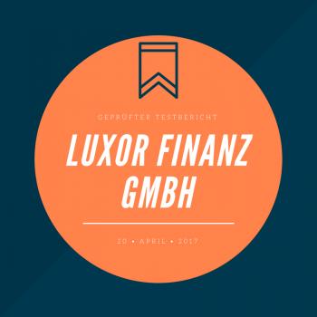 Luxor Finanz Testbericht 2017